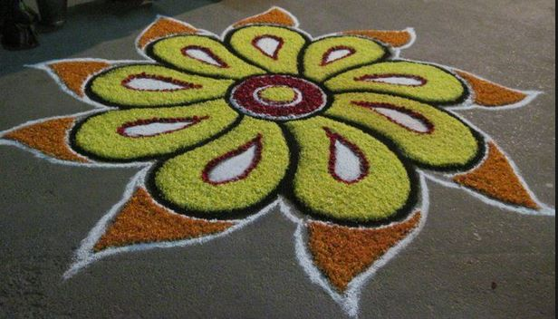 50 Rangoli Designs – Easy and Simple