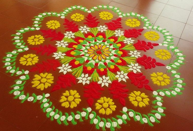 Rangoli Designs-New, Fresh, Easy and Simple