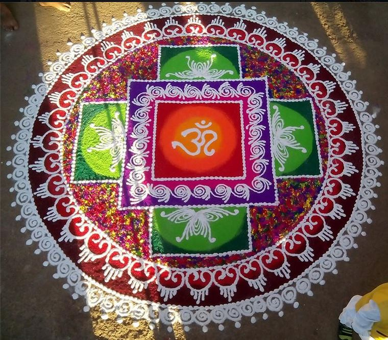 Independence Day Competition Rangoli Designs 2015