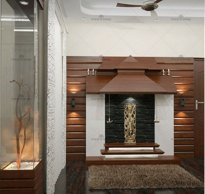 Modern mandir design for home - Home decor ideas