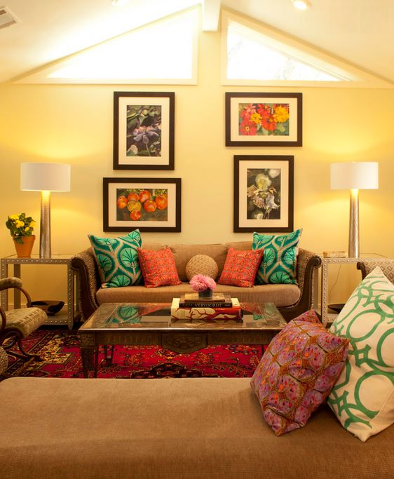 living room design rajasthani  15 Living Room Interior Ideas Worth Stealing - Pooja Room and ...