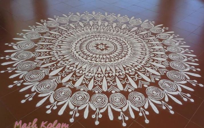 Kolam Designs for Ugadi
