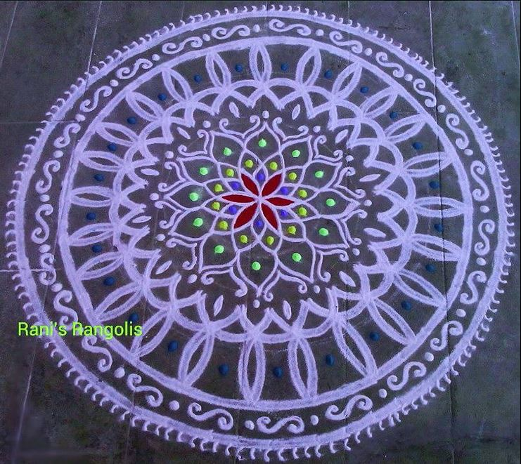 Kolam Design for Ugadi