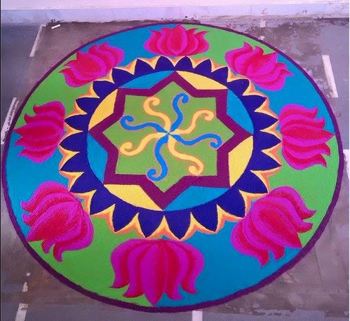 Rangoli Designs for Home