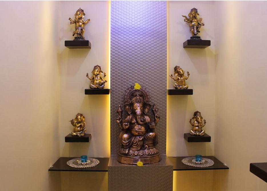 Mandir Designs Living Room Pooja room designs in hall pooja room home temple pooja ghar pooja room designs in living room sisterspd
