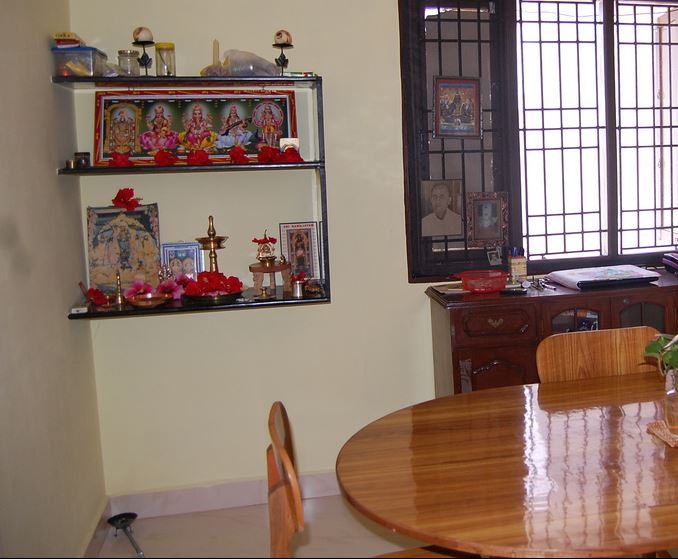 Pooja Room Designs in Living Room - Pooja Room | Pooja Room Designs ...