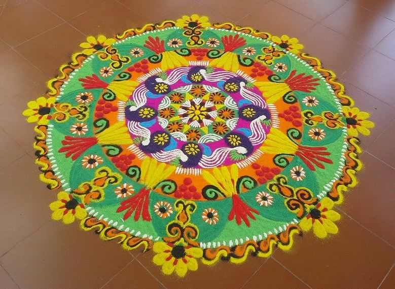Rangoli Designs for Ugadi