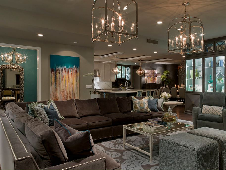 artistic modern style living room chandelier design ideas white unique | Decorating Ideas Living Room - Pooja Room and Rangoli Designs