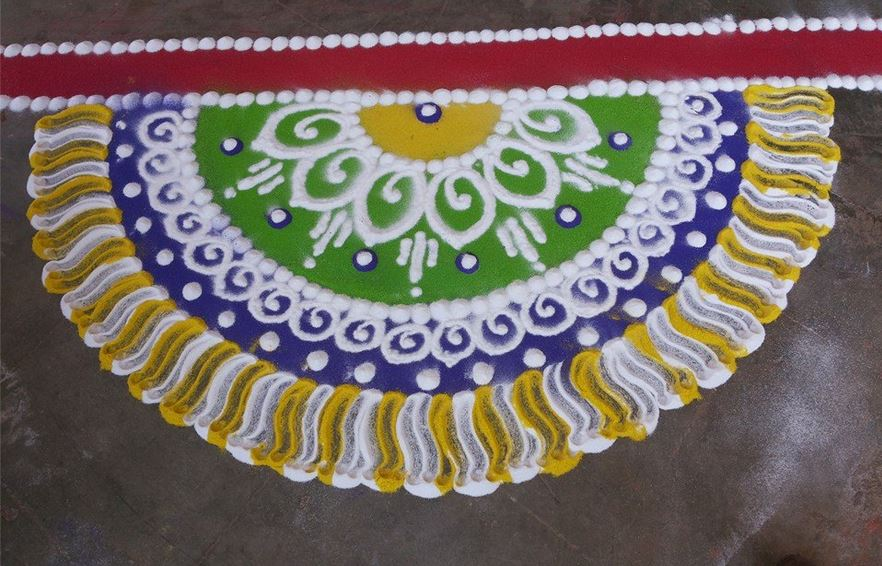 Beautiful Rangoli Designs for New Year