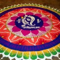 Pooja Room Rangoli Designs
