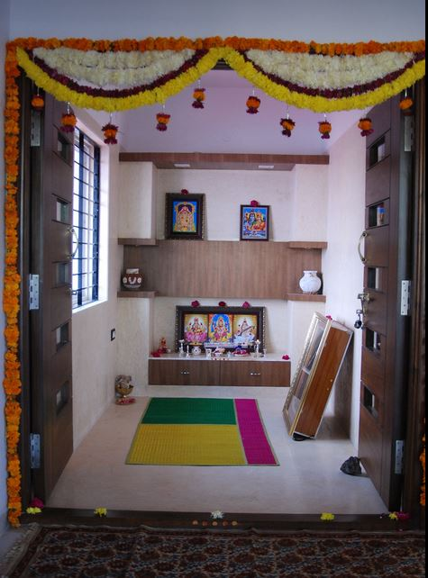 Pooja Room Colors