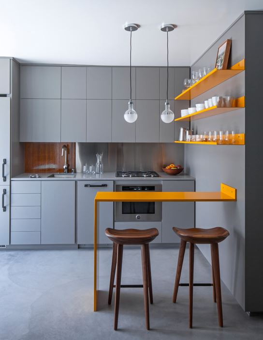 Modern Small Kitchen Design For Small House