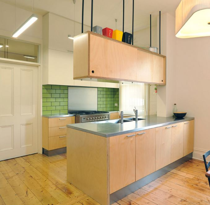 Extremely Simple Kitchen Design For Small House