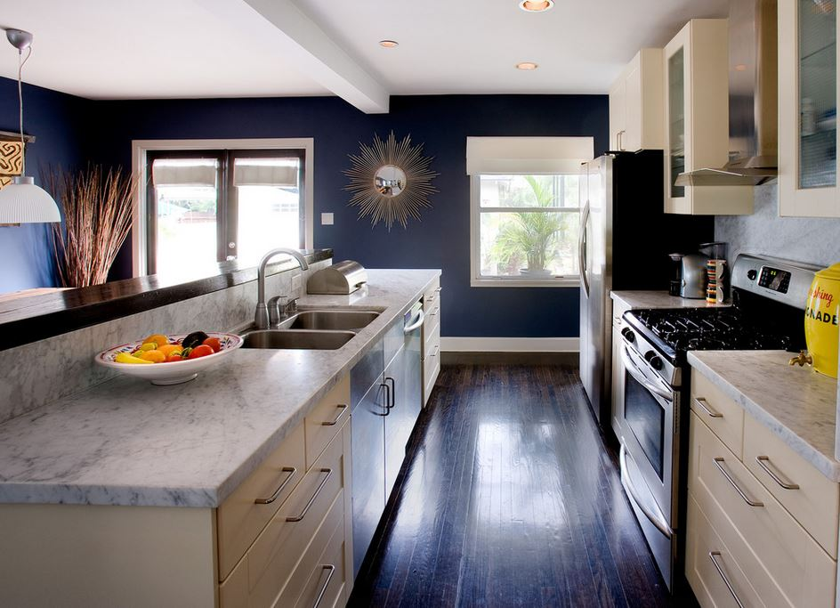 Simple low cost of homes designs as well navy blue kitchen walls also