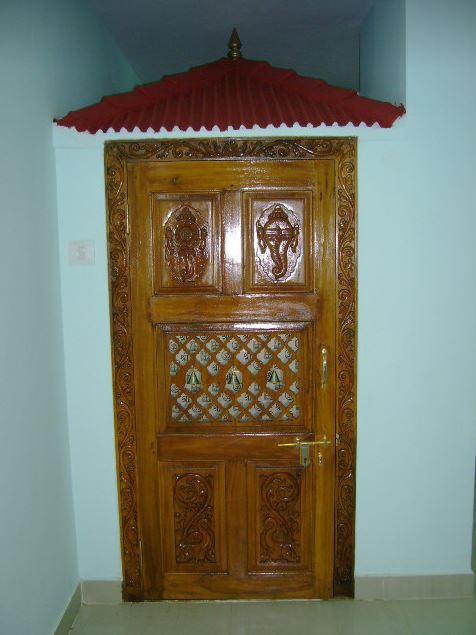 Pooja room door designs pooja room designs and decor - Pooja room door designs in kerala ...