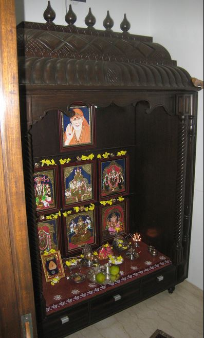 20 Pooja Room Designs in Wood