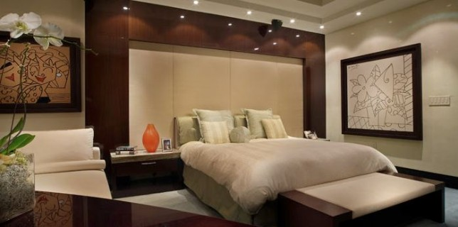 Modern bedroom interior designs archives pooja room and for Master bedroom interior design images