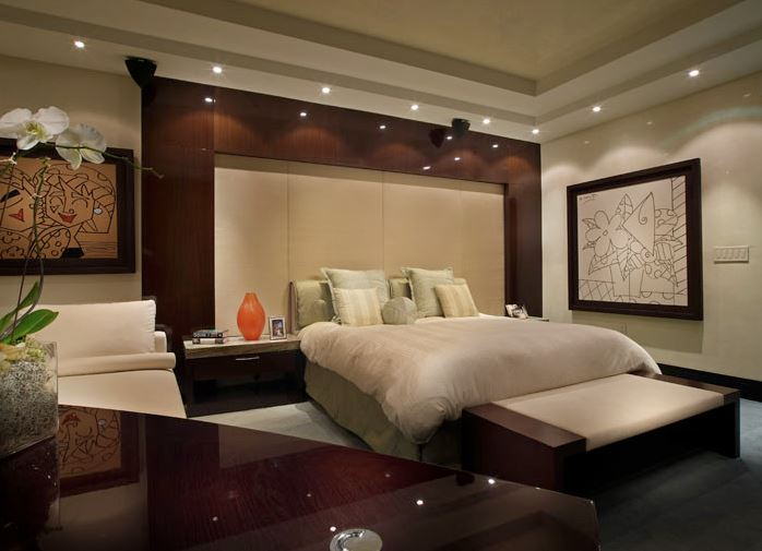 luxury Master bedroom interior design in Dubai | 2019 | Spazio