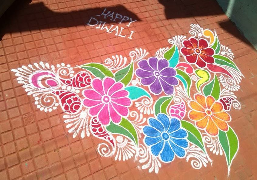 Learn How to Make Rangoli Designs the Easy Way