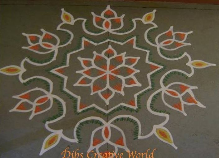 How To Make Rangoli Designs Diwali Rangoli Designs 2015
