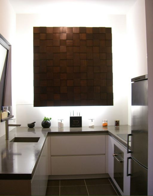 Kitchen wall colors with dark cabinets - Simple Kitchen Design For Small Space Kitchen Designs