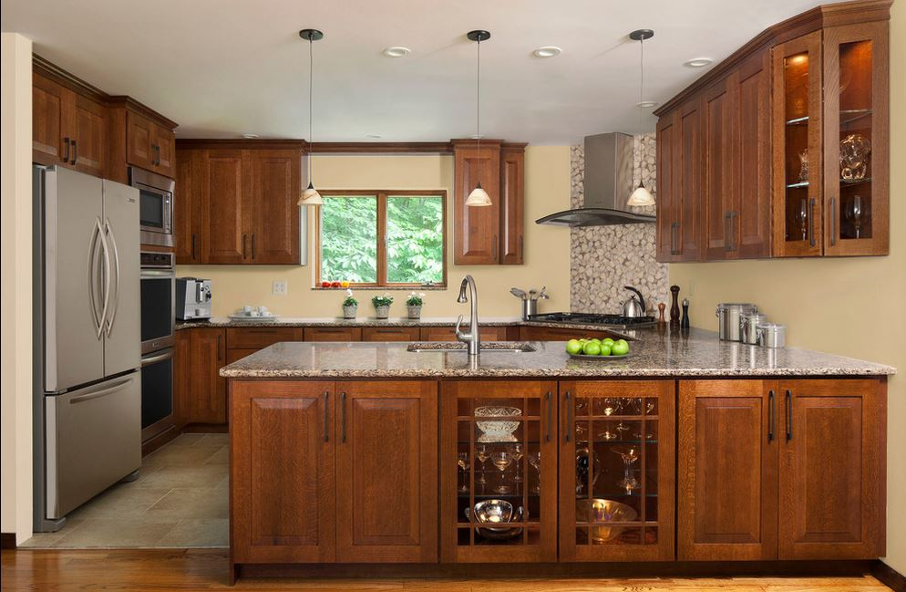Simple kitchen design ideas kitchen kitchen interior for Simple modern kitchen cabinets