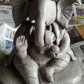 How to Make Ganesh Idol at Home