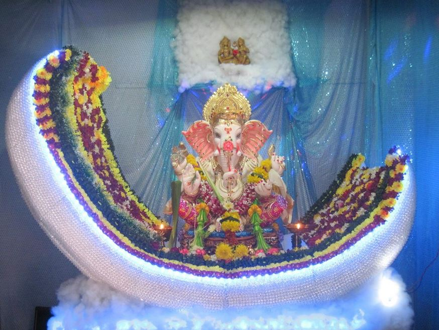 25 Ganpati Decoration Ideas at Home with Theme