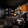 Black Bedroom Interior Design