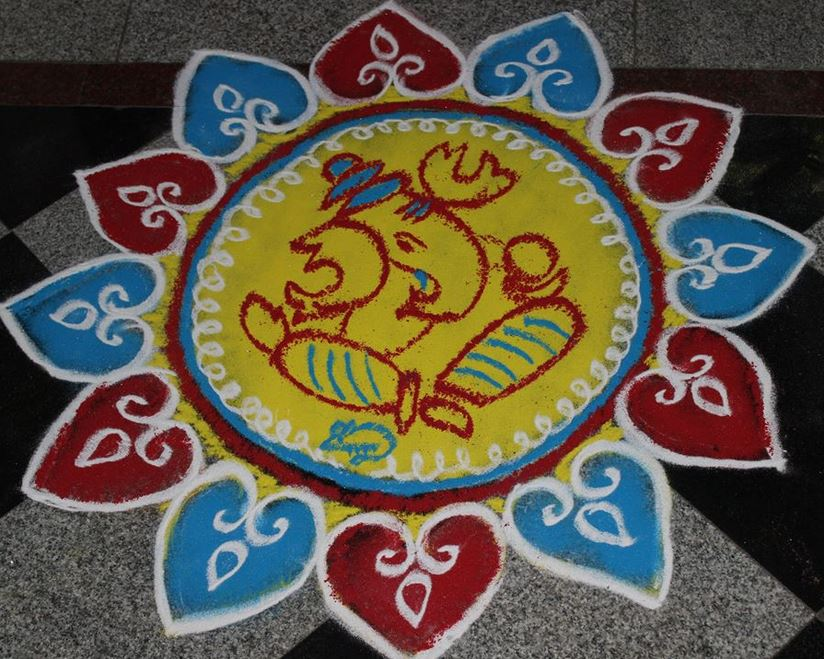 Easy Rangoli Designs 2015