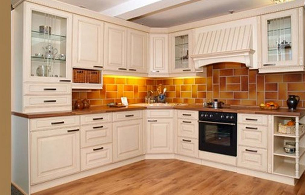 Kitchen cabinet design ideas easy cheap gallery for Simple small kitchen design pictures