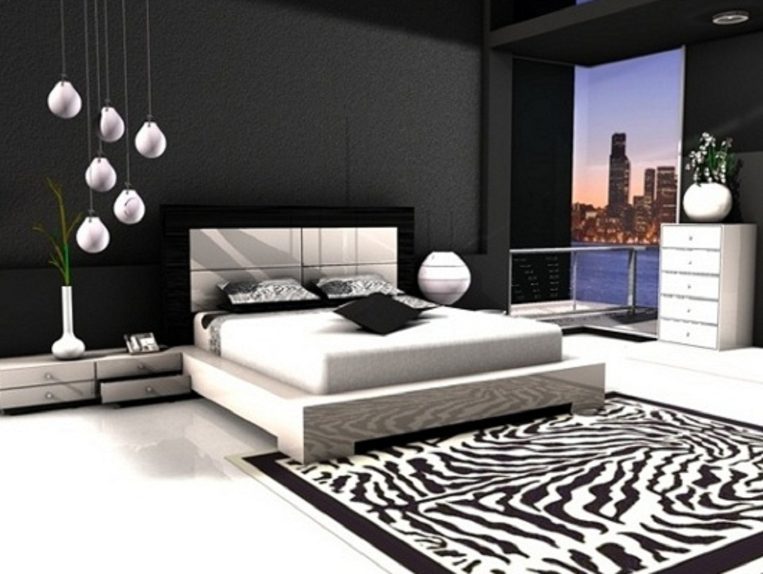Stylish bedrooms bedroom interior designs and decor ideas for Black room design