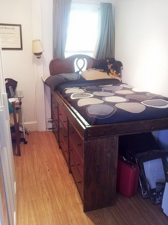 Small bedroom Storage