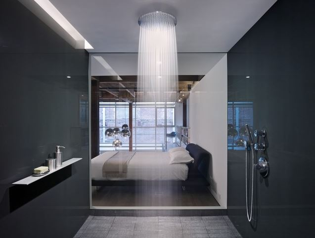 Gentil Open Concept Idea For Bathroom