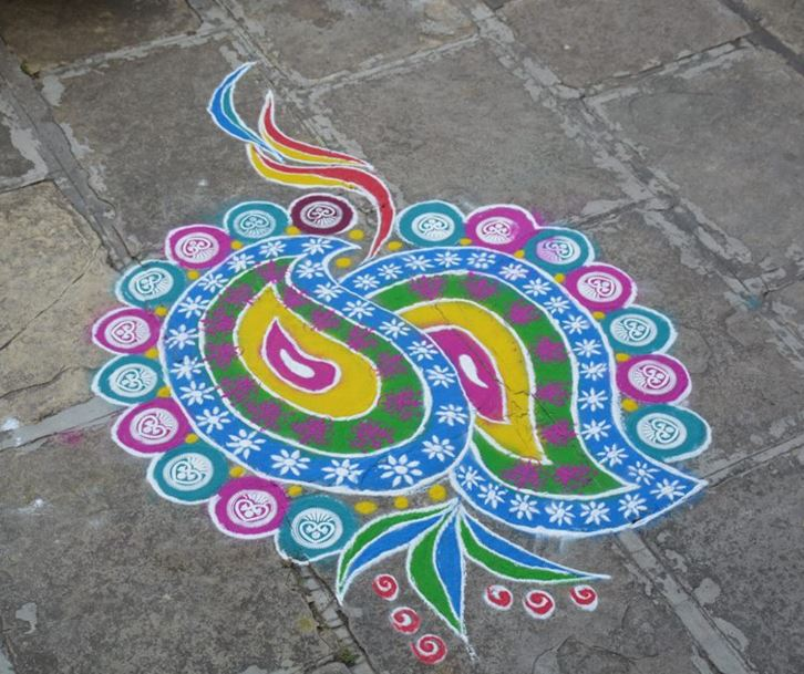 Rangoli Designs Easy And Simple Rangoli Rangoli Design