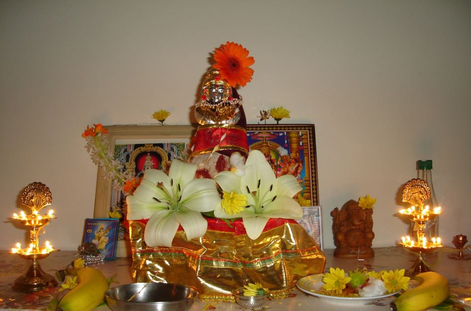 Varalakshmi Pooja Decoration Ideas at Home