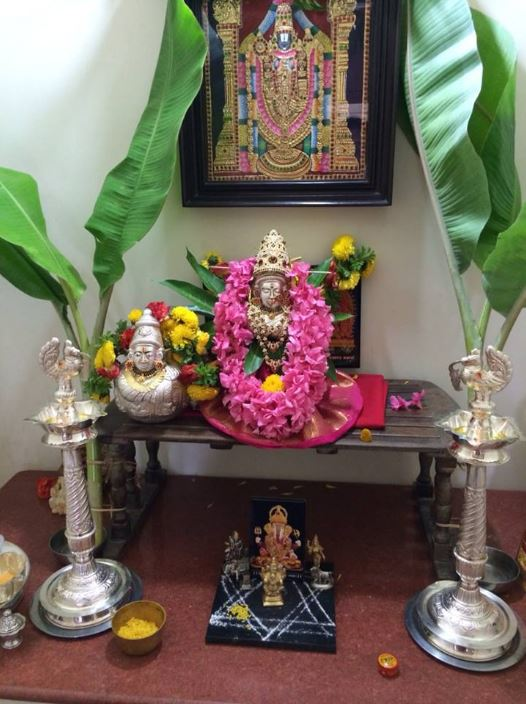 Varalakshmi Pooja Decoration Ideas