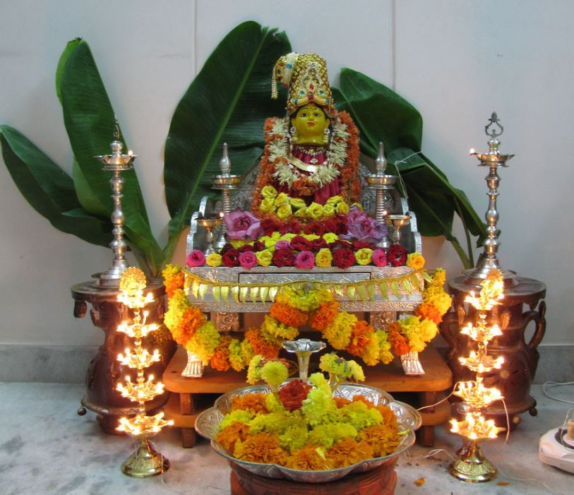 Decoration Ideas: Pooja Room Decoration Ideas For Varalakshmi