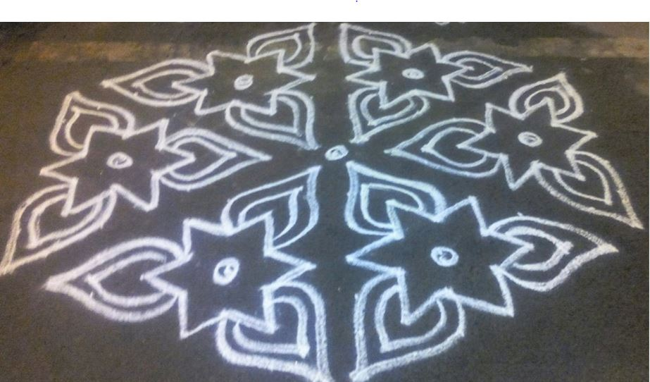 30 Sankranti and Ugadi Kolam Designs