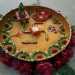 Aarti Thali Decoration for Dussehra