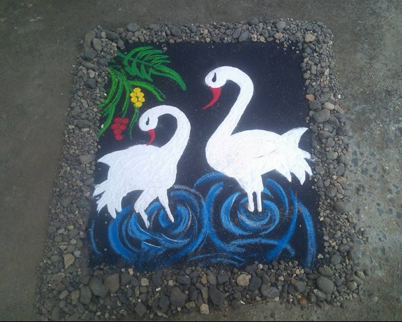 3D Rangoli 3D Designs Competition Design