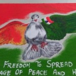 Republic Day Rangoli Designs with Message