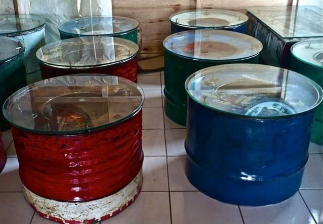 Repurposed Metal Drum Diy Recycled Metal Barrel Ideas