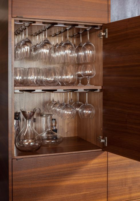 Kitchen Glassware Cabinet