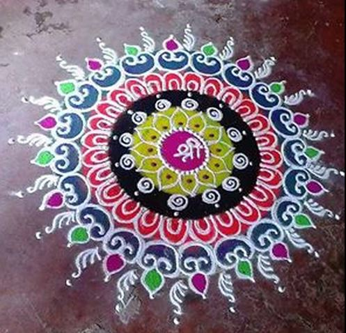 Best Rangoli Designs without Dots