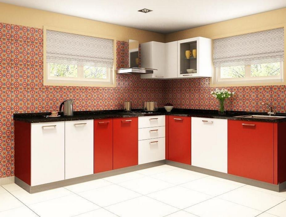 Simple kitchen design for small house kitchen kitchen for Normal kitchen design