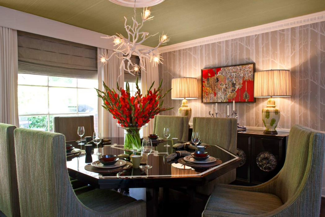 Dining table centerpiece ideas room