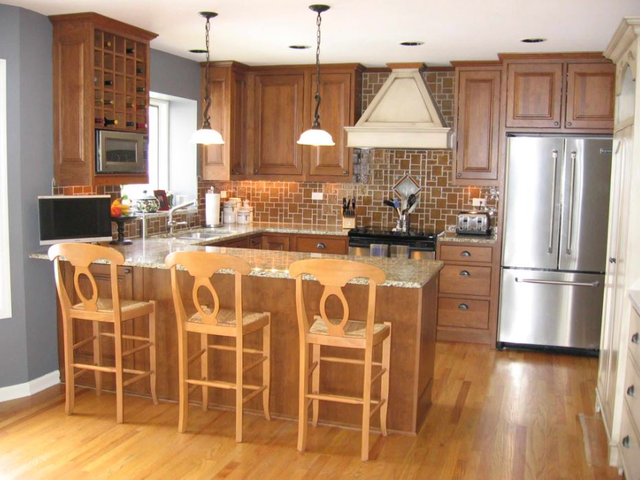 Kitchen designs layouts kitchen layout kitchen designs - How to design a kitchen layout with island ...
