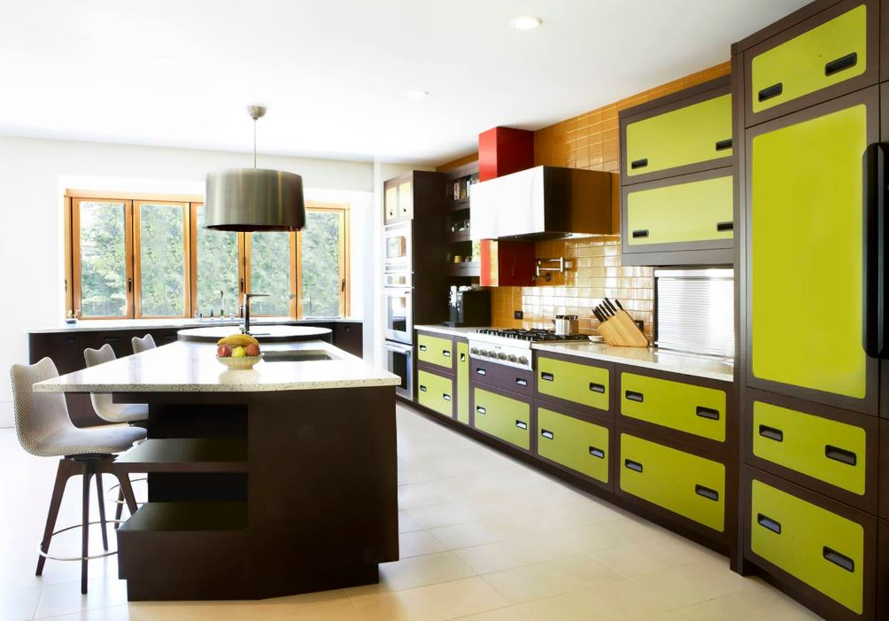 Kitchen colors kitchen kitchen designs kitchen ideas for Avocado kitchen cabinets