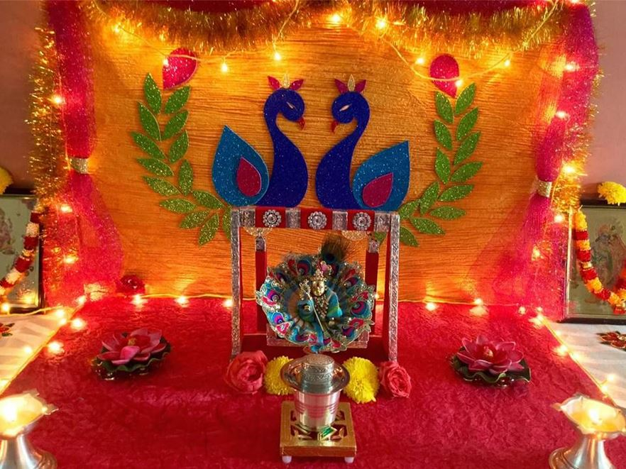Ganpati Decoration Ideas Pooja Room Designs And Decor For | Best House ...